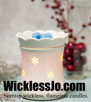 Wickless Jo Scentsy candles